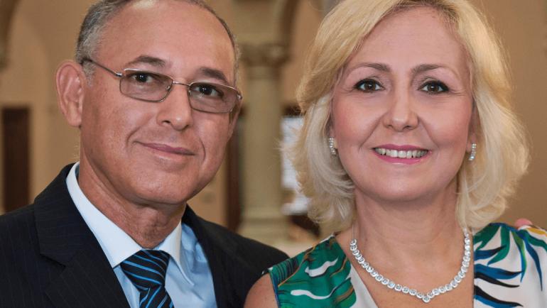 Vicente und Kátia Medeiros